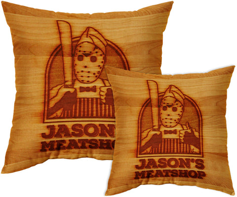 Jason's Meatshop Pillow