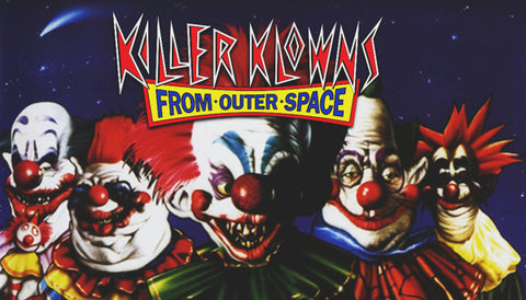 Killer Klowns From Outer Space Label
