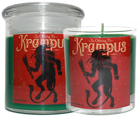 An Offering To Krampus Scented Candle