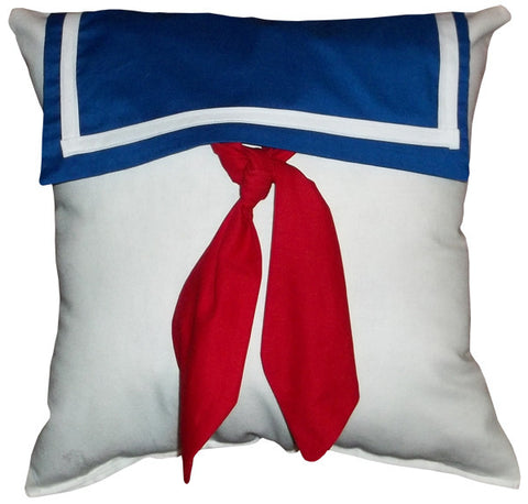 Marshmallow Man Pillow