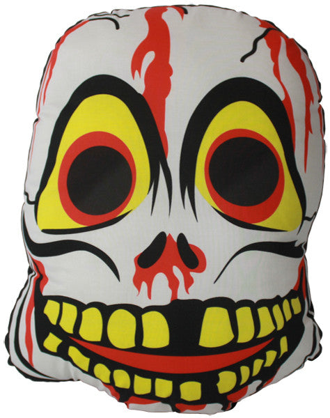 Vintage Skeleton Mask Pillow