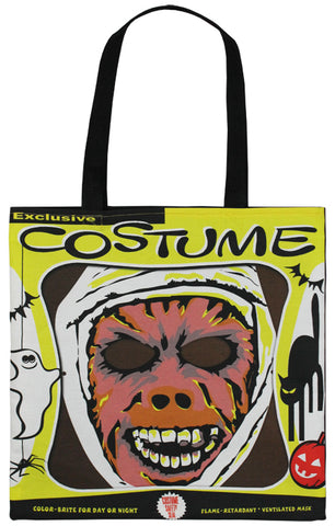 Vintage Mummy Mask Tote Bag