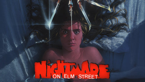 Nightmare On Elm Street Label