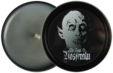 The Crypt Of Nosferatu Candle Tin