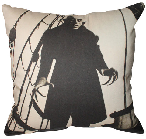 Nosferatu (Ship) Pillow