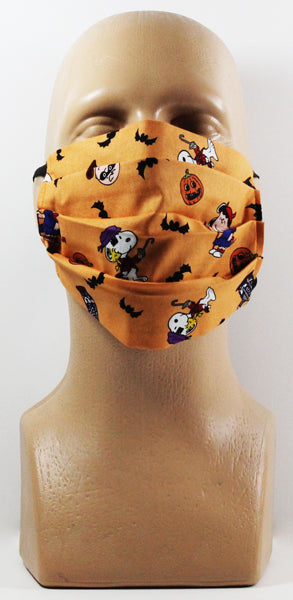 Peanuts Halloween Face Mask