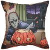 Pumpkin Carver Pillow