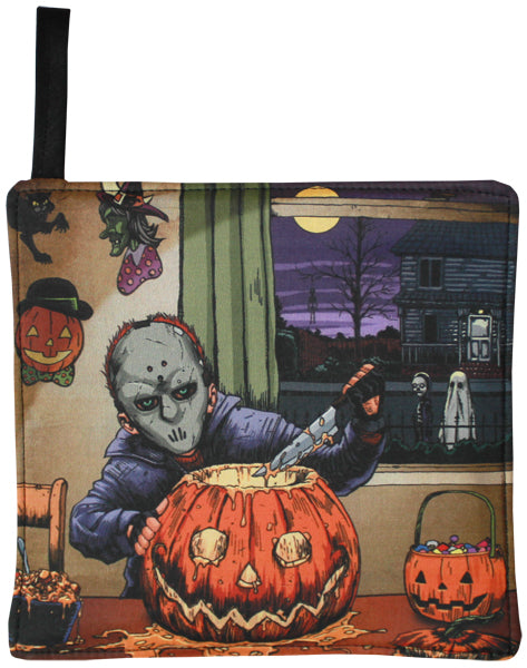 Pumpkin Carver Pot Holder