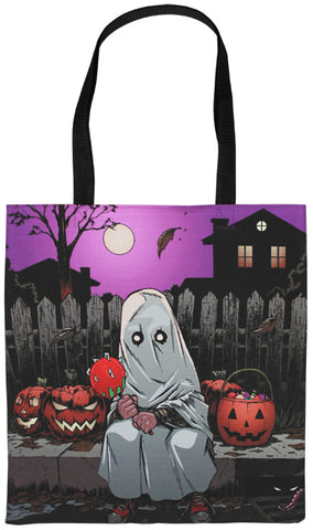 Sheet Ghost Tote Bag