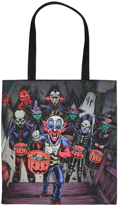 Trick Or Treaters Tote Bag