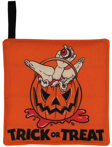 Pumpkin Pail Pot Holder