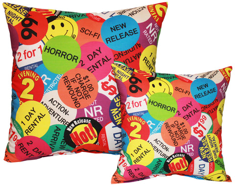 Rental Sticker Pillow