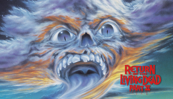 Return Of The Living Dead 2 Label
