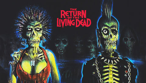 Return Of The Living Dead Label
