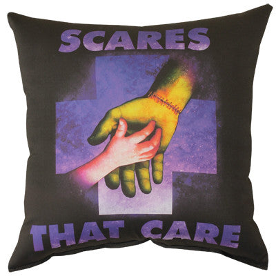 Scares That Care Pillow