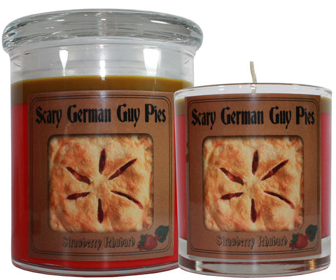 Scary German Guy Pies Scented Candle