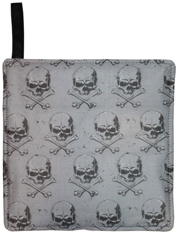 Skull Pattern Pot Holder