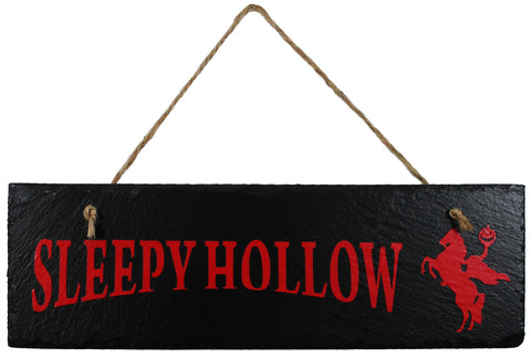 Sleepy Hollow Slate Sign