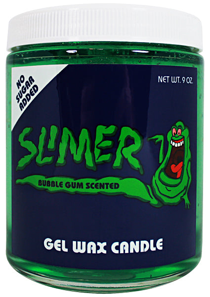 Slimer Bubble Gum Scented Candle