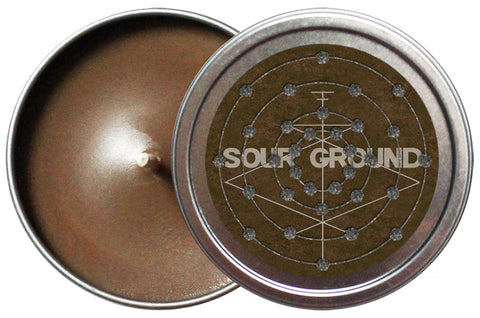 Sour Ground Candle Tin