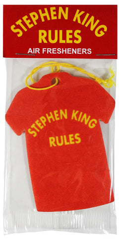 Stephen King Rules 2-Pack Air Fresheners