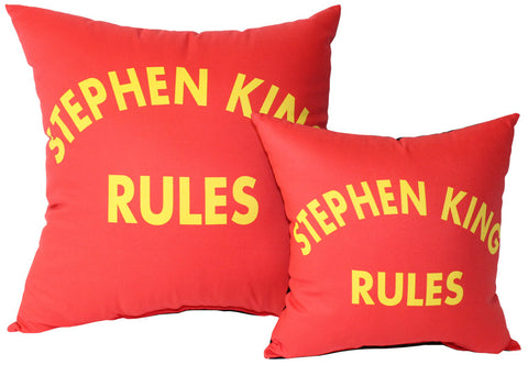 Stephen King Rules Pillow