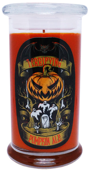 *Terrifying Pumpkin Ale Candle