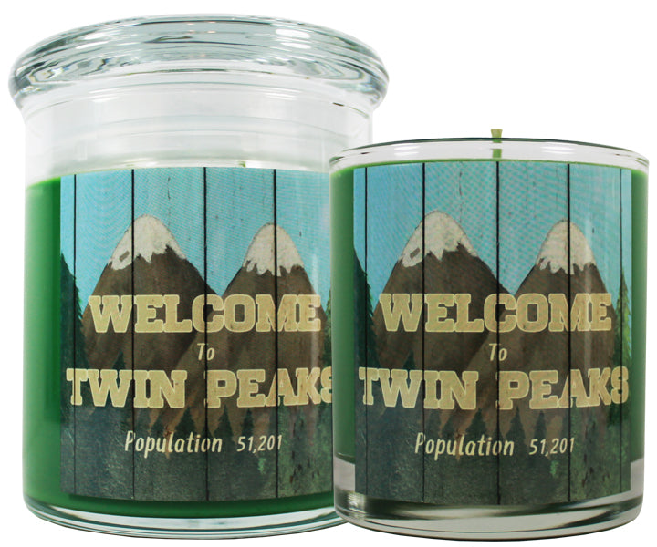 Twin Peaks Scented Candle