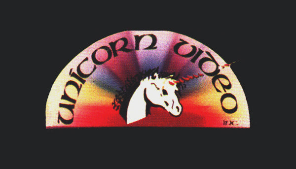 Unicorn Video Label
