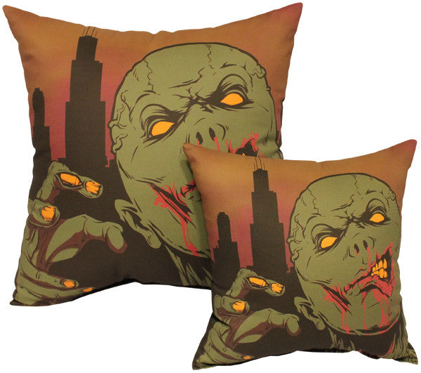 Urban Zombie Pillow