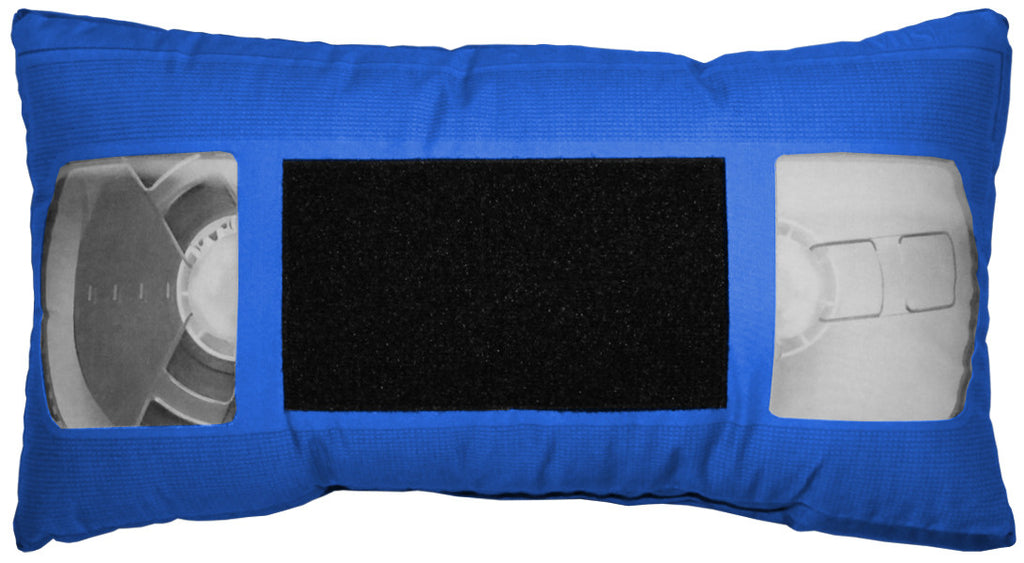 *VHS Pillow - Blue