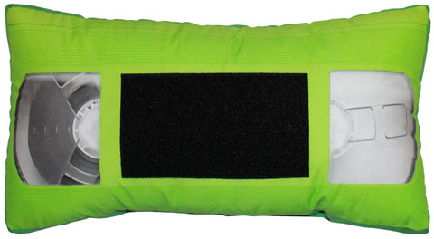 *VHS Pillow - Green