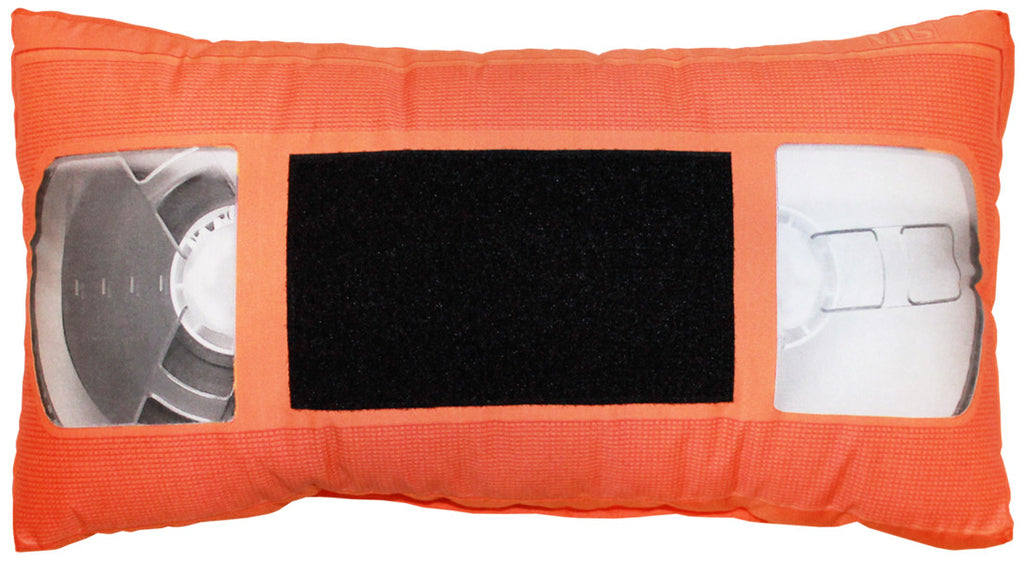 *VHS Pillow - Orange