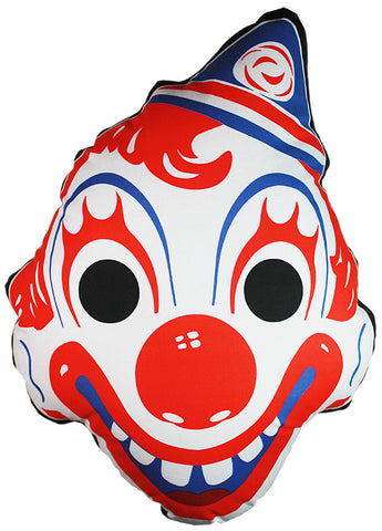 *Vintage Clown Mask Pillow