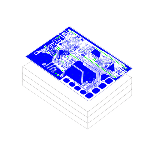 PCB layout design - 4 layers