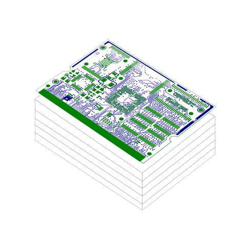 PCB Layout Design Service - High Complexity ( 6 Layers ) | PCB ...