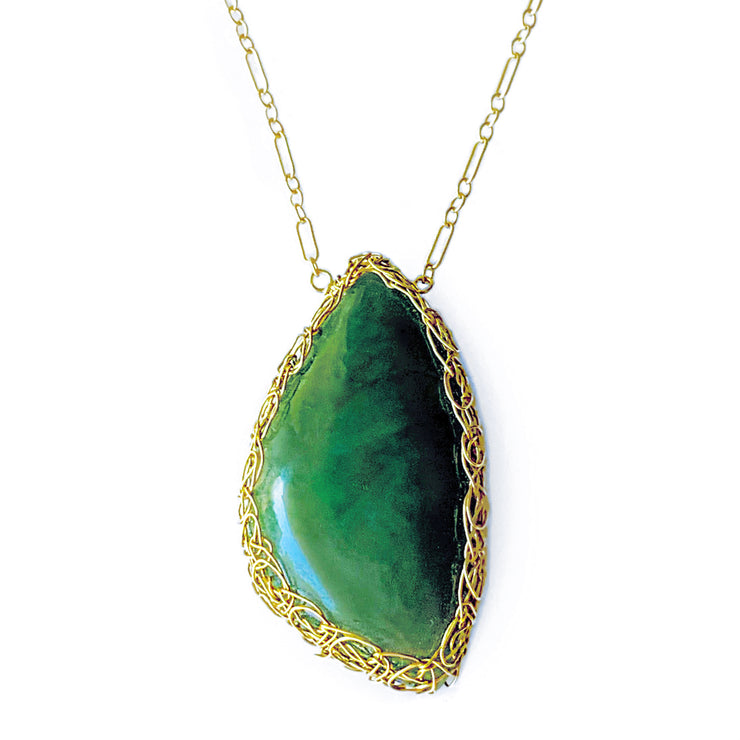 Big Sur Jade In Gold