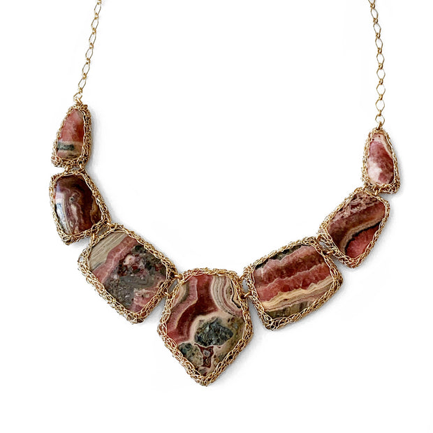 Rhodochrosite Heavenly Necklace