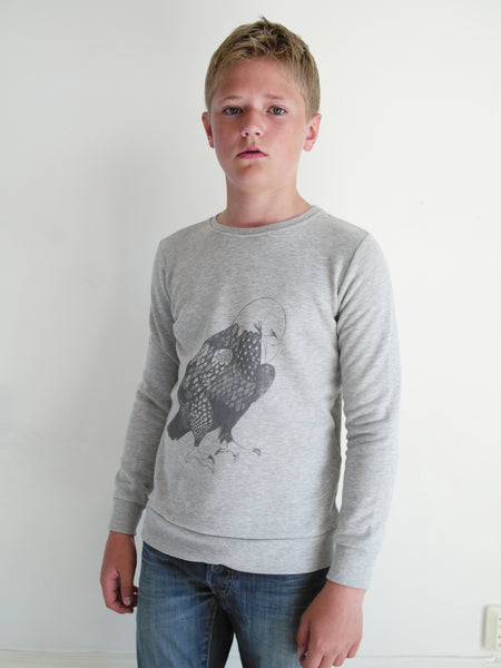 BASIC Sweatshirt Eagle Grey
