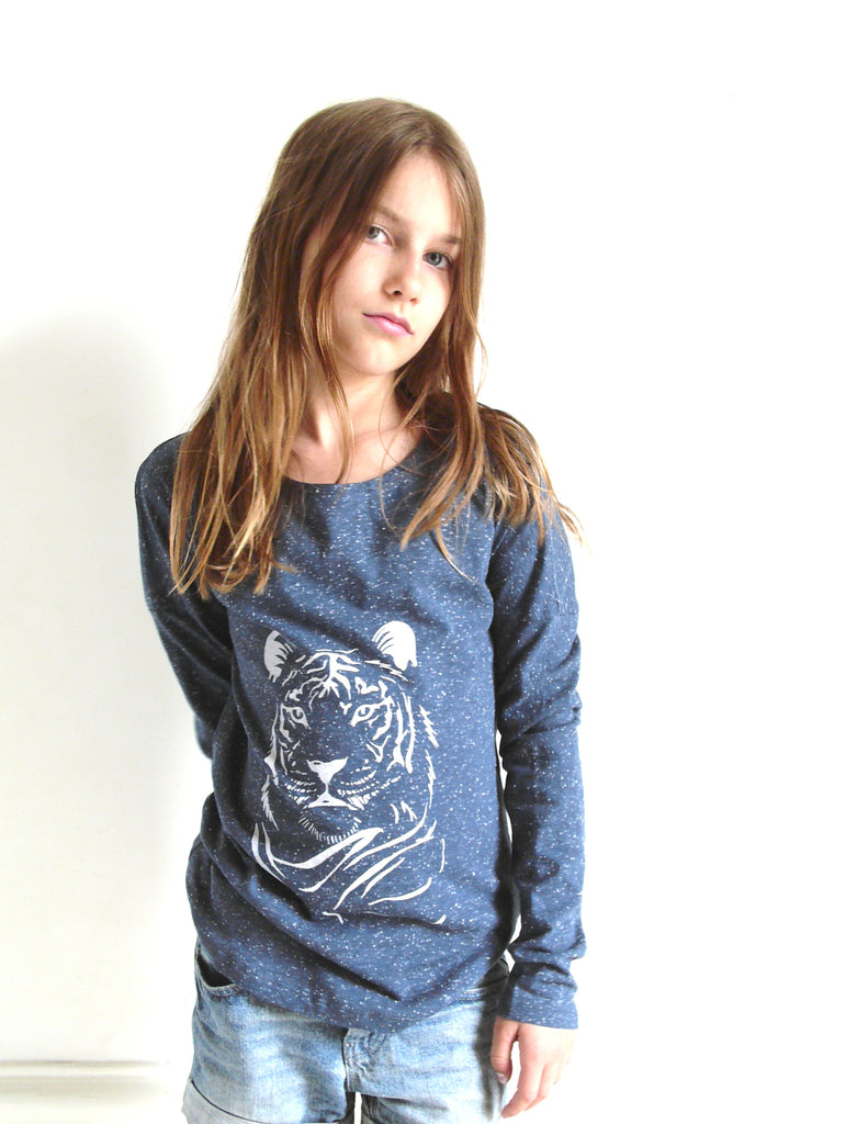 POP LS T-shirt Tiger Dots