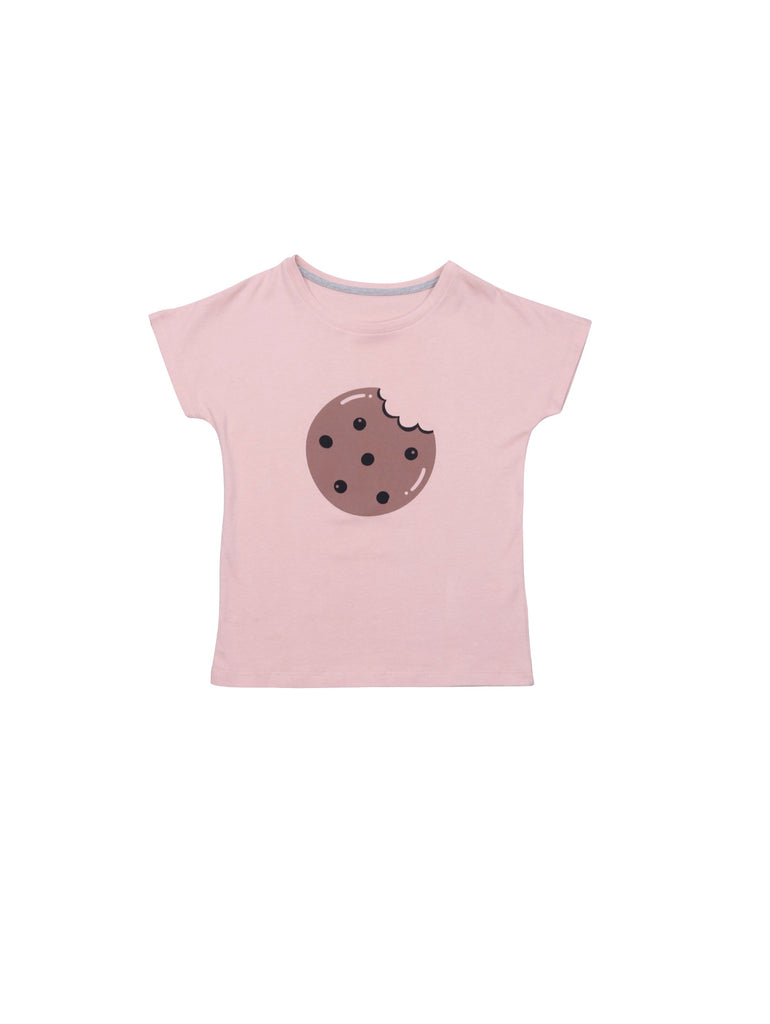 One We Like Pop SS Cookie made of organic cotton and handprinted cookieprint