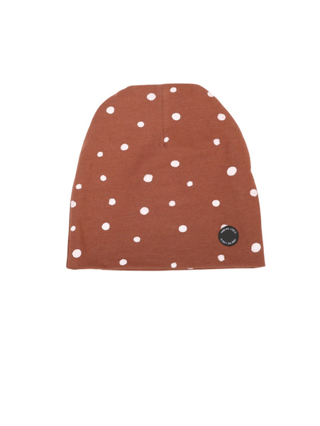 HAT DOTS BROWN