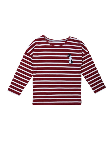Pop LS Stripe Fox