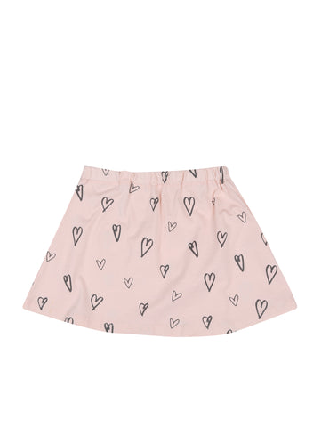 SKIRT HEARTS Soft Pink