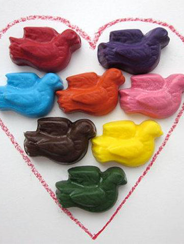 Peace Doves - Earth Grown Crayons