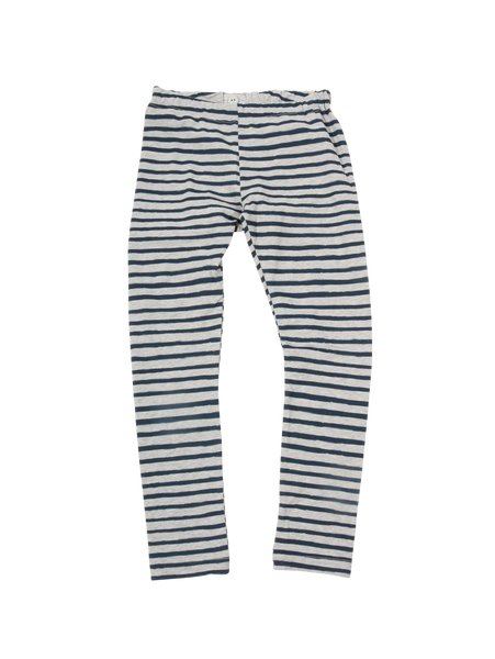 LEGGINGS STRIPE grey/blue