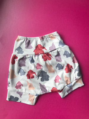 9-12 Months Ellie The Elephant Shorts