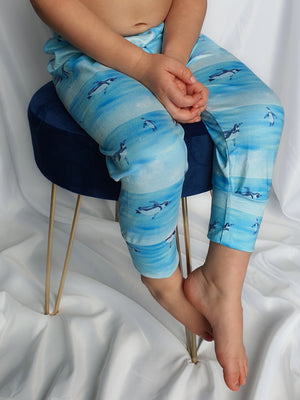 9-12 Months Ice Pole Leggings
