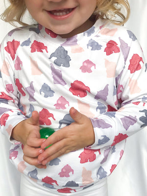 9-12 Months Ellie The Elephant Sweatshirt