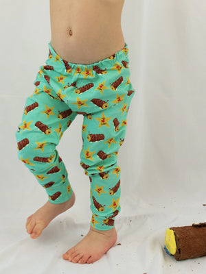 Colin The Caterpillar Leggings - Roopers Rompers